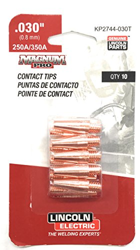 KP2744-030T Lincoln Contact Tip .030 - Taperd 10/pack