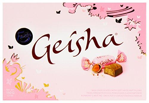 De Geisha Melk Chocolade Met Soft Hazelnootvulling 150G Door Karl Van Fazer - Pak Van 2