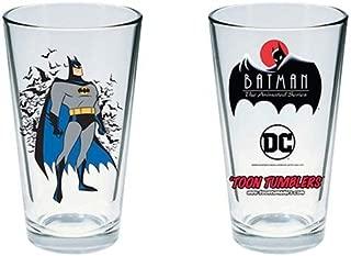 Batman: The Animated Series Batman Toon Tumbler Pint Glass