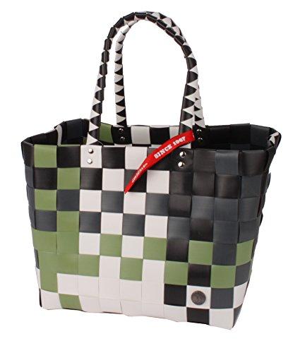 Witzgall Shopper Vintage Style 5010 53 SANDY braun, 37cm x 24cm x 28cm, Einkaufstasche, Einkaufsshopper