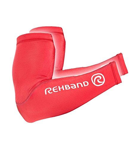 Rehband Armschoner Compression Arm Sleeve, Rot, XXL/XXXL