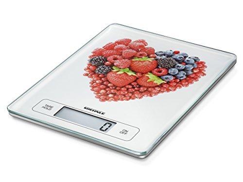 Soehnle Page Profi Kitchen Scale, Stainless Steel, Hearts, 15 kg by Soehnle