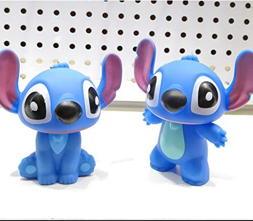 Boufery Mini 2pcs Lilo Stitch Figura de acción Juguetes...