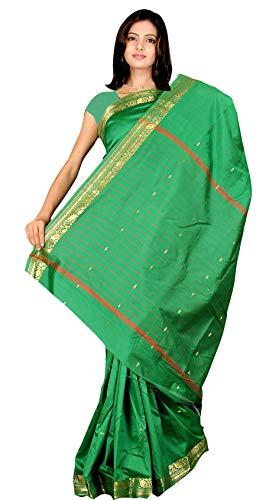 Soir/ée /Év/énement Mariage Tenues de soir/ée The Fabrics Station Designer Art Indien Fait /à la Main en Soie Saree Sari Wrap pour Partywear F/ête 26 Couleurs |Violet v/êtements Traditionnels