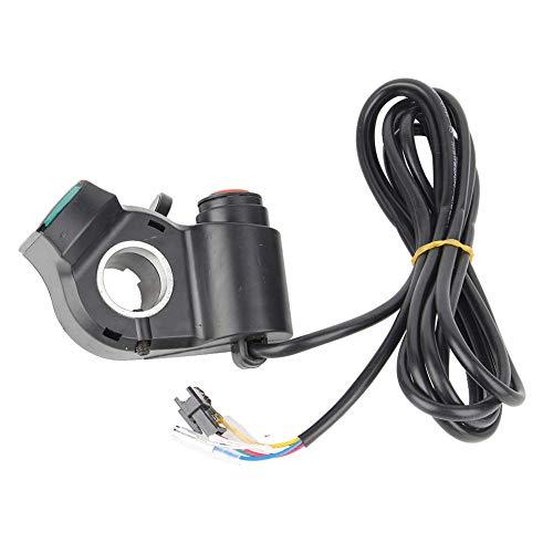 Candeon Acelerador de Cambio de Dedo con Pulgar y Pantalla de Voltaje Digital para Triciclo de Scooter de Bicicleta eléctrica de 12-99 V