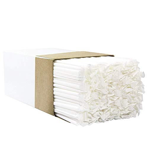 Avant Grub's BPA-Free Big, Premium Straws 300 Pack. Paper-Wrapped, Clear, Thick, & Jumbo Sized (Big at 10.25 in Tall, .3 in Wide). Restaurant-Grade & USA-Made.