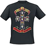 Guns N' Roses Appetite For Destruction - Cover Hombre Camiseta Negro XXL, 100% algodón, Regular
