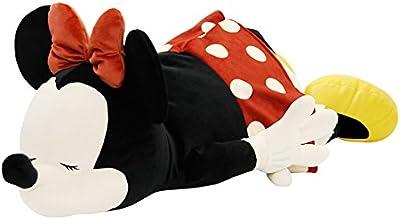 りぶはあと 抱き枕 ディズニー モチハグ ミニーマウス Lサイズ (全長約75cm) ふわふわ もちもち 50010-02