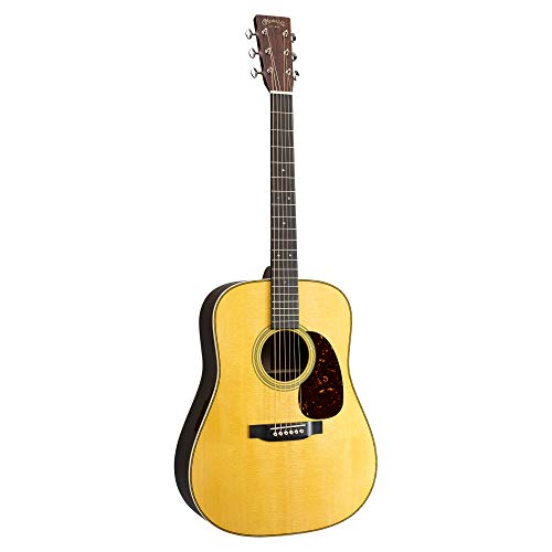 Martin Guitar Standard Series Acoustic Guitars, Hand-Built Martin Guitars with Authentic Wood HD-28E LRB