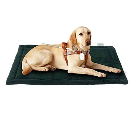 XYQ KIK ~ Das Hundebett, Crate Pad Premium-Plüsch wasserdichtes Hundebett waschbare Abdeckungen for Medium Small Large Dog-Color8-L (101 * 68cm), 2022 (Color : Color3, Size : S(73 * 52cm))