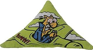 (ダッキー) Ducky ネコちゃん用 Yeowww! Purrr-mudaトライアングル キャットニップ オーガニック 猫用 おもちゃ トイ