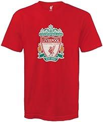 Liverpool FC Camiseta hombre - Con el escudo del club - Rojo