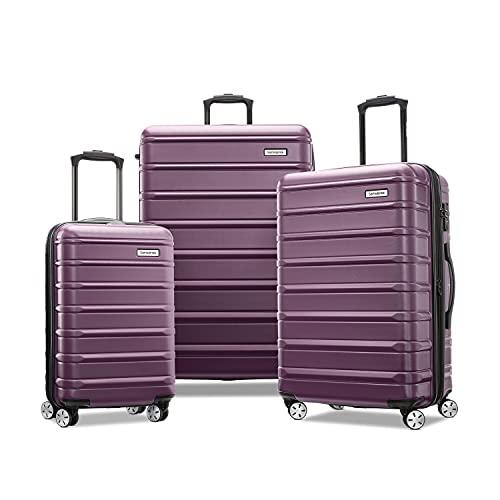 Samsonite Omni 2 Hardside - Maleta Extensible con Ruedas giratorias, Purple (Morado) - 138451-D979