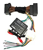 4 Channel Full System Add An Amp Amplifier Adapter Interface to Factory OEM Car Stereo Radio System for select Chrysler Dodge Ram Vehicles - No Factory Premium Amp/Bose- Vehicles listed below
