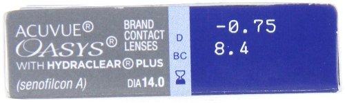 Acuvue Oasys 2-Wochenlinsen weich, 6 Stück / BC 8.4 mm / DIA 14 mm / -2.25 Dioptrien - 7