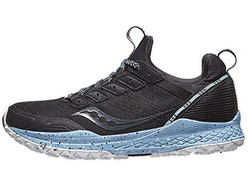 Saucony Women's Mad River TR Trail Running Shoe, Black, 9
