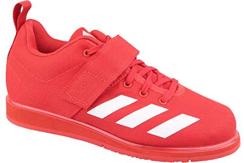 adidas Herren Powerlift 4 Multisport Indoor Schuhe, Rot (red BC0346), 40 2/3 EU