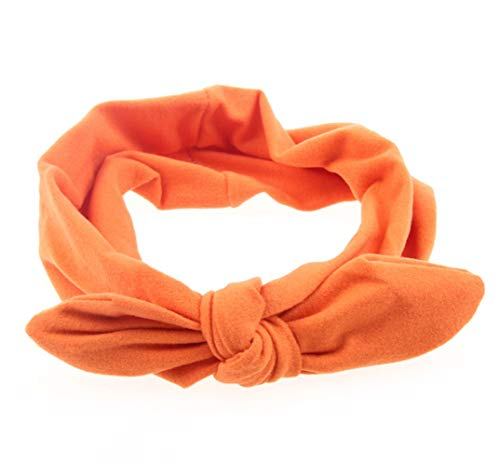 KAEHA SUN-074-01 1 x haarband, klassiek, elastisch, voor dames, oranje