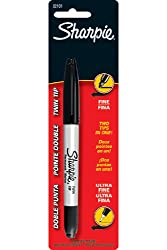16 Pack NEWELL CORPORATION SHARPIE TWIN BLK CARDED