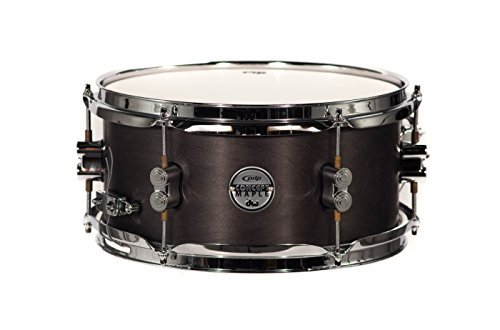 PDP by DW schwarz Wachs Ahorn Snare Drum 7x 13 6x12 schwarz