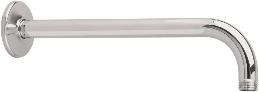 American Standard 1660 194 295 12 Inch Wall Mount Right Angle Shower Arm With 1 2 Inch Npt Thread Satin Nickel Shower Arms And Slide Bars Amazon Com
