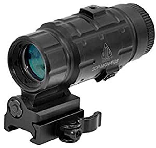 UTG 3X Magnifier with Flip-to-side QD...