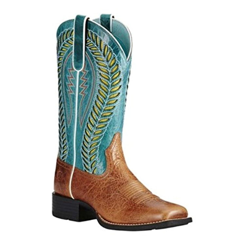 デコレーションカードテレマコス(アリアト) Ariat レディース シューズ?靴 ブーツ Quickdraw VentTEK Cowgirl Boot [並行輸入品]