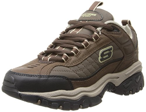 Skechers Men's Energy Downforce Lace-Up Sneaker,Brown Taupe,9.5 M US