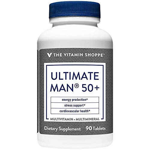 Ultimate Man 50+ Multivitamin (90 Tablets) by The Vitamin Shoppe