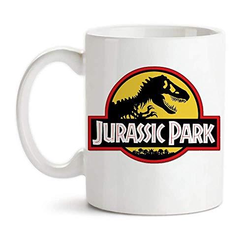 Urassic Park Jurassic Park - Taza de café (cerámica), diseño de Parque Jurásico