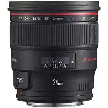 Canon EF 24mm f/1.4L II USM Wide Angle Lens - Fixed - 2750B002