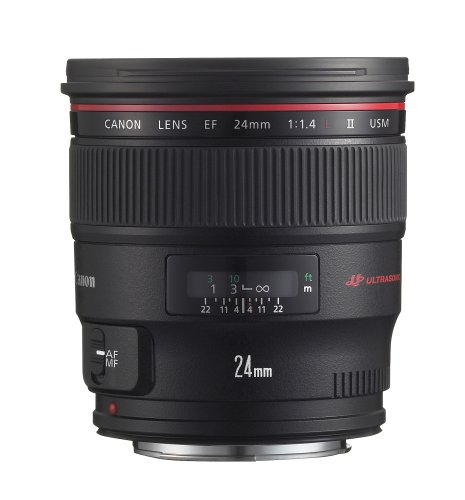 Canon EF 24mm f/1.4L II USM Wide Angle Lens -...
