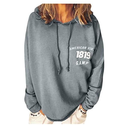 Sudadera de Felpa para Mujer Otoño Invierno Tops Oversize Fluffy Fleece Sweatshirt Outwear Sudaderas con Capucha Hoodie Hiphop Street Fashion Oversize Sweatshirt para Hombres Mujeres Adolescentes