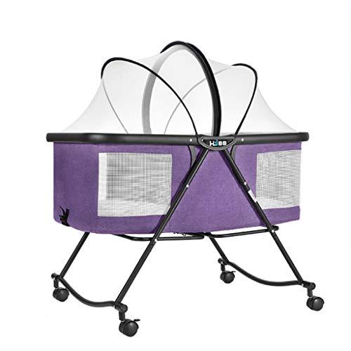 Hosaire Port/átil Mini Mosquiteras De Viaje Plegable De Mosquitos Tienda Cama Cuna Para 0-3 A/ños Beb/é Beb/és Ni/ños 110 x 60 x 38 cm Azul