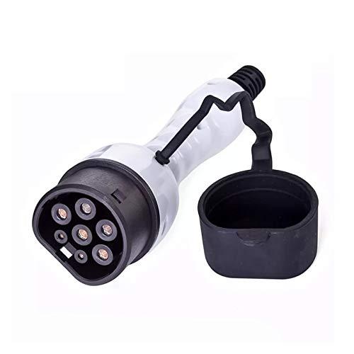 XIAOSHI Little Oriental EV-Stecker-Adapter Typ 2 EV-Ladegerät-Buchse IEC 62196 Konverter 16A 32A (Color : 16A Three Phase)