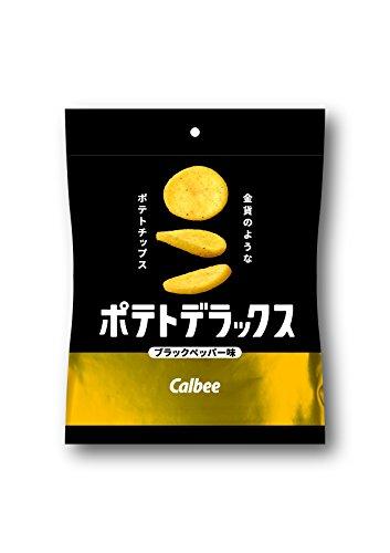カルビーポテトデラックス ブラックペッパー味 50g×12袋