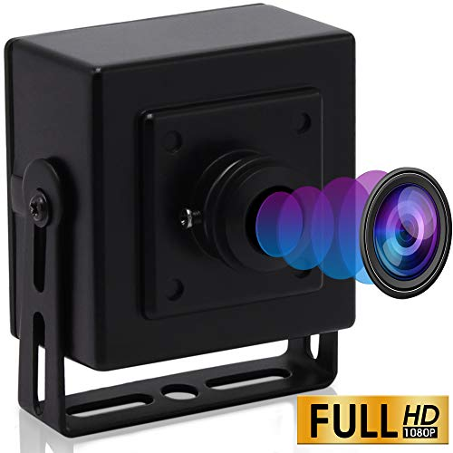 ELP 180 Grad Fisheye Objektiv Weitwinkel 1080P Mini Box Webcam USBFHD01M-BL180