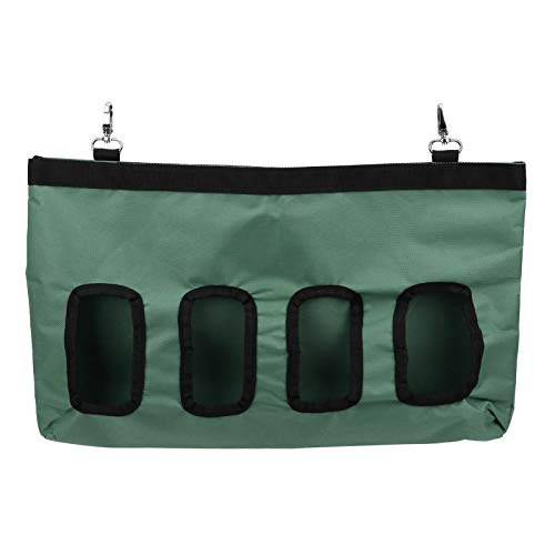 Rodipu Fütterung, leicht zu reinigender Futterautomat für Kaninchen-Chinchillas-Kleintiere, Meerschweinchen(Green)