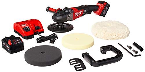 "Milwaukee 2738-22P M18 Fuel 7"" Variable Speed Polisher Kit w/Pads"