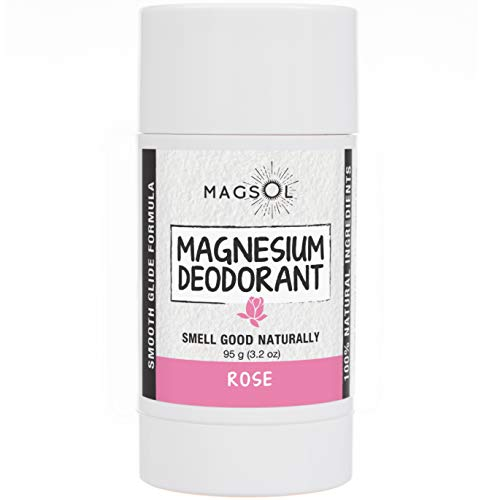 Rose Natural Deodorant with Magnesium review