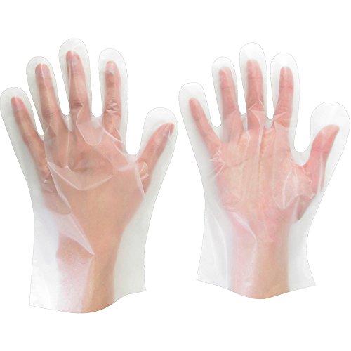ミドリ安全 内エンボスポリエチレン手袋 ベルテ 510N M 100枚入 1セット 100枚入 取寄品