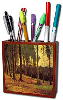Edge of a Wood By Vincent Van Gogh Pencil Holder