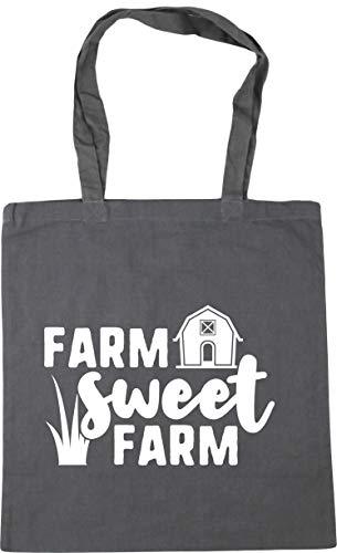 Hippowarehouse Farm Sweet Farm Tote Shopping Gym Beach Bag 42cm x38cm, 10 litres