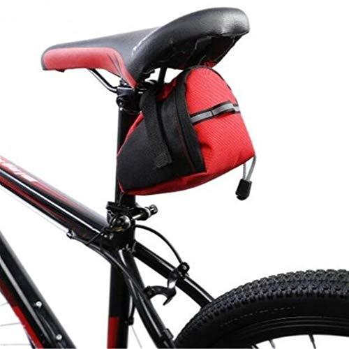 Bolsa de cuadro de bicicleta Los bolsos impermeables del sillín, reflexivo ciclo del asiento de la cola bolsa, bolsa for Tija de sillín Accesorios for bicicletas al aire libre para MTB al aire libre