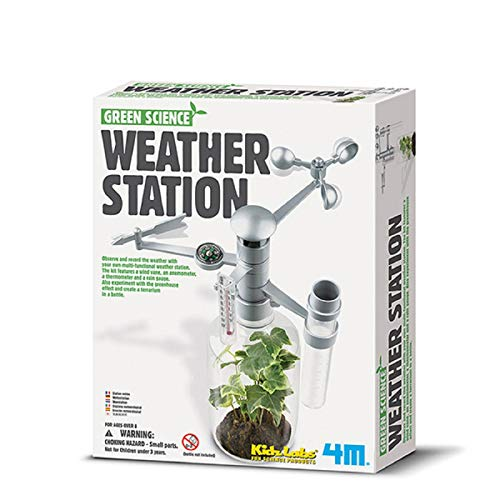 Stazione Metereologica - Weather Station Kidz Labs Science Kit/Green Science