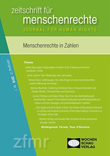 Menschenrechte in Zahlen: zeitschrift für menschenrechte 1/2019 (zfmr)