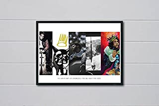 Rob's Tees Custom Cole History Inspired Pop Art Poster Hypebeast Posters Pop Culture Wall Art Streetwear Posters (Frame NOT Included) (18x24)