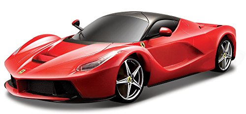 Bburago B18-16901R Ferrari 1:18 LaFerrari, Mixte