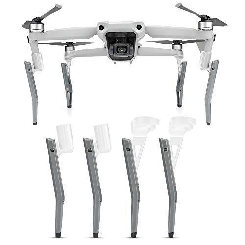 CUEYU Landing Gear für DJI Mavic Air 2 Drone, 1 Set Schock Absorber Fahrwerk Verlängert Stativ mit Erhöhtem Bein für DJI Mavic Air 2 Drohne