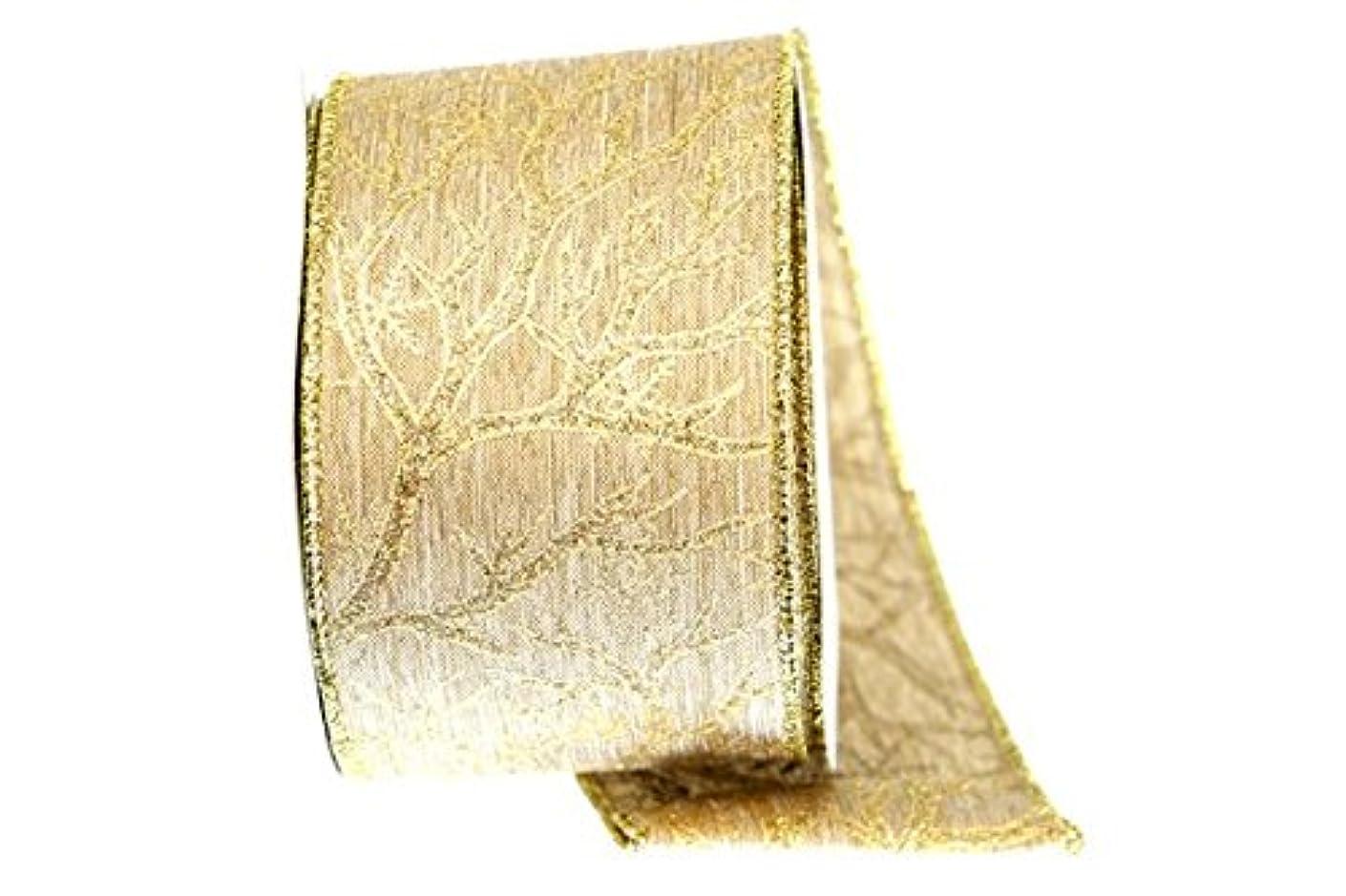 Renaissance 2000 Fabric Ribbon, Gold